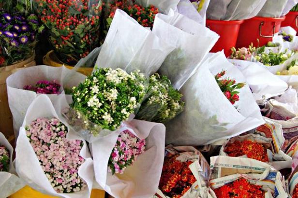 HK flower market