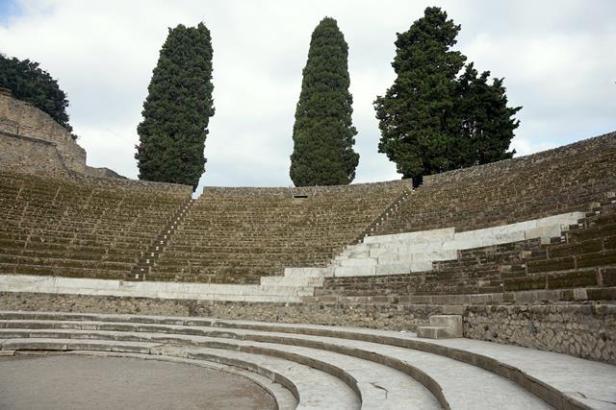 Large Theater, Pompeii
