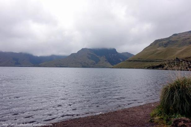 La laguna grande de Mojanda (the big lake)