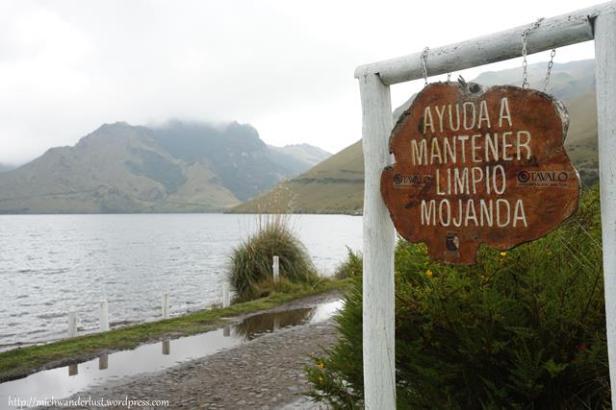 Laguna grande (big lake) de Mojanda | Otavalo | Ecuador | hiking