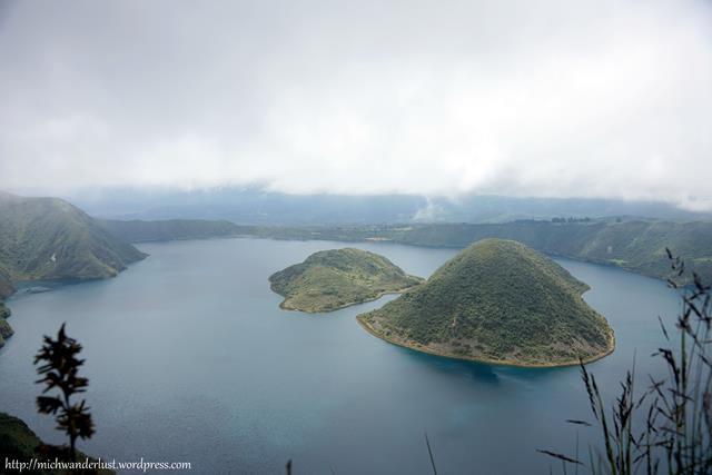 laguna de Cuicocha | Otavalo | Ecuador | hiking