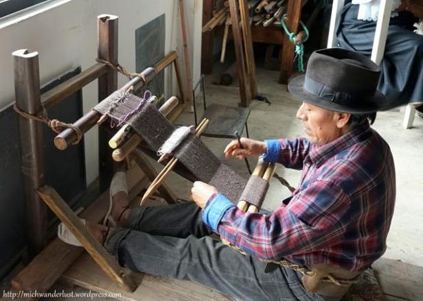 Museo Otavalango backstrap weaving Otavalo Ecuador