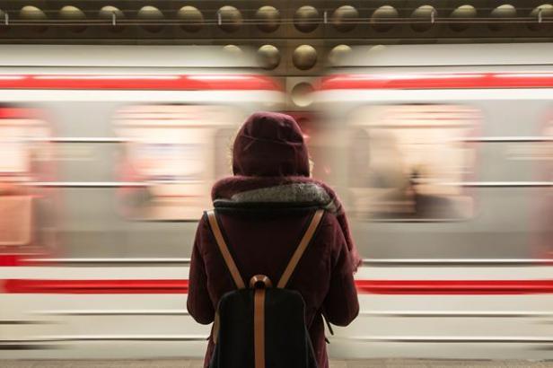 backpack train